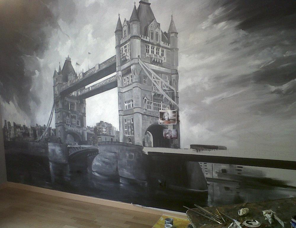 Londres – Mural
