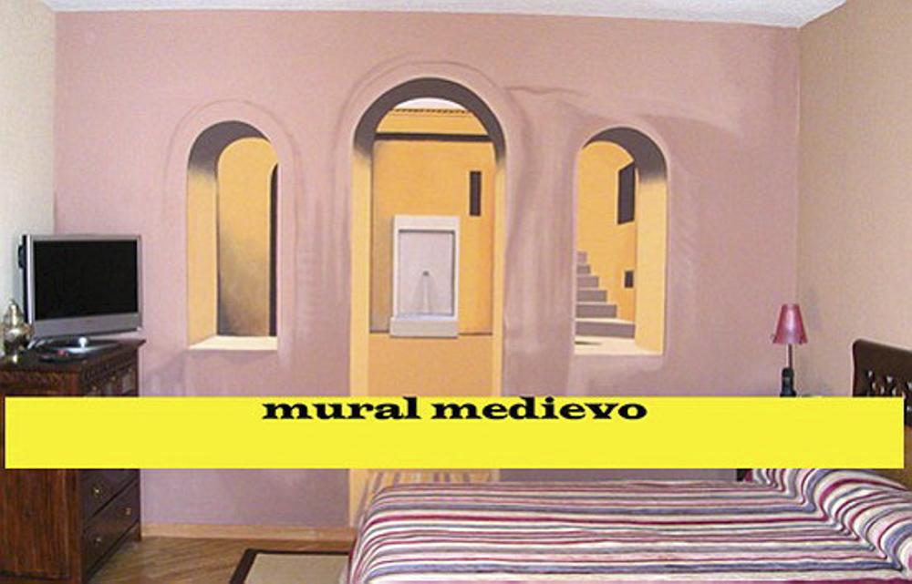 Mural Medievo