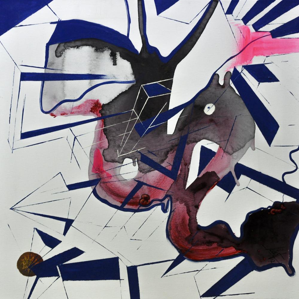 Esencia II. Óleo sobre lienzo. 50 x 50 cm