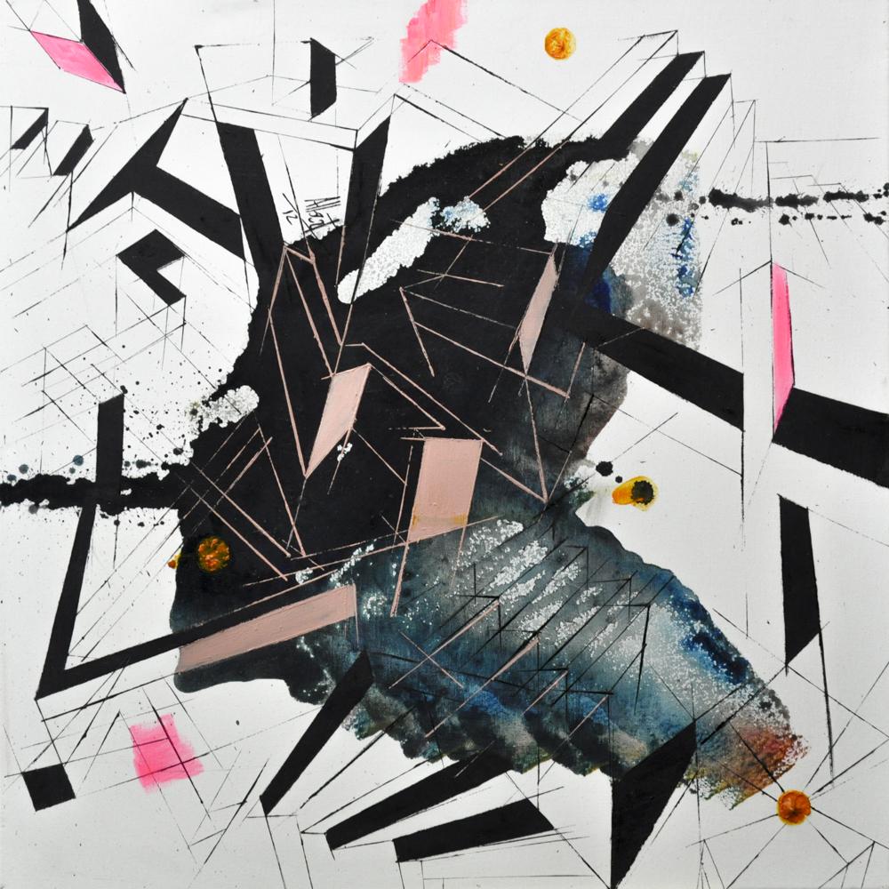 Esencia. Óleo sobre lienzo. 50 x 50 cm