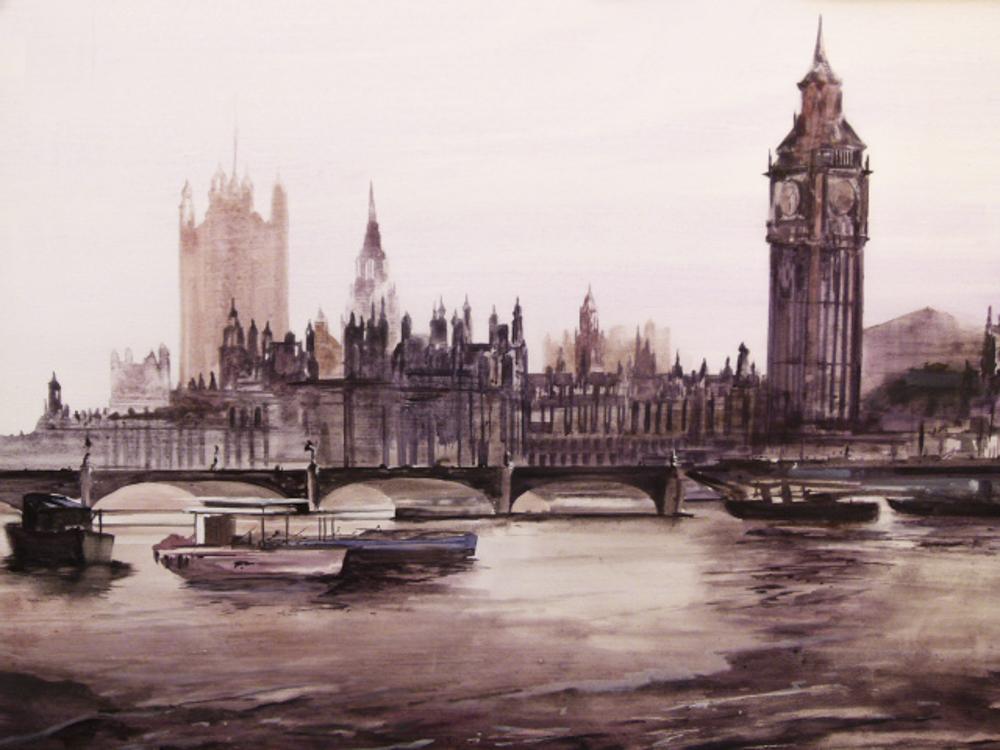Londres. 100 x 81cm