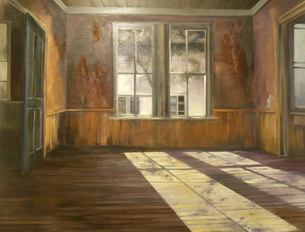 Luz interna. 100 x 81cm. Óleo sobre lienzo.