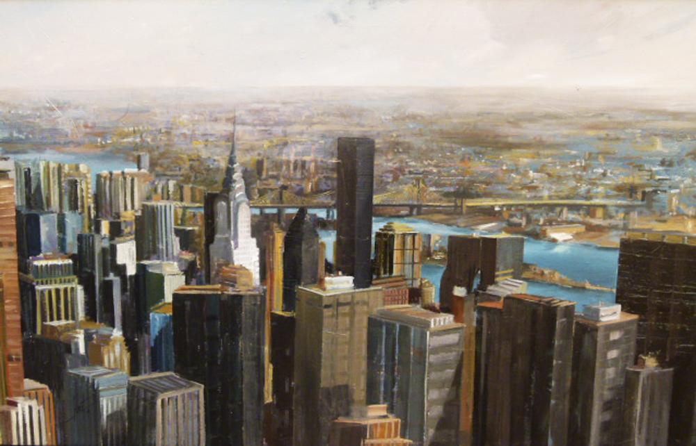 New York. 150 x 75 cm.