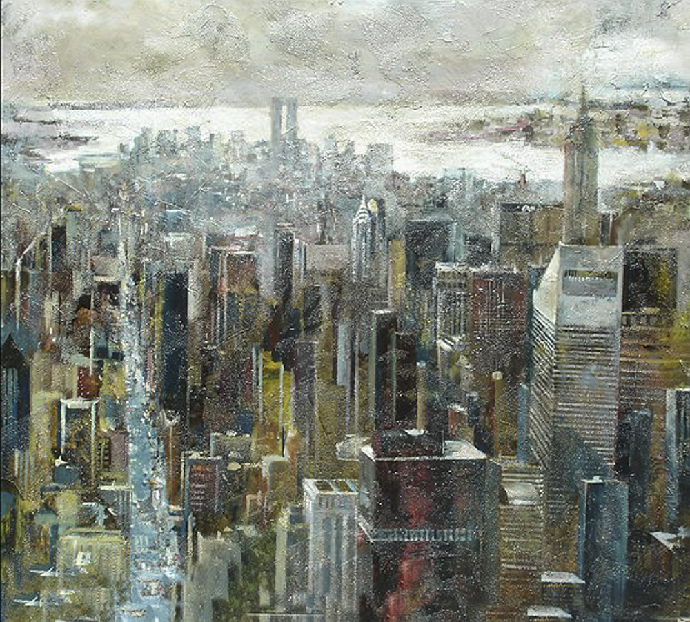 Panorámica NY. 100 x 90cm.