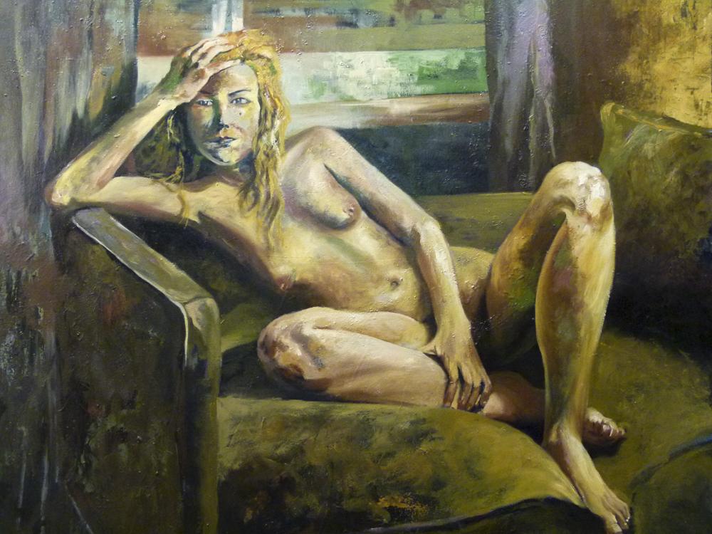 Patricia. 120 x 120 cm