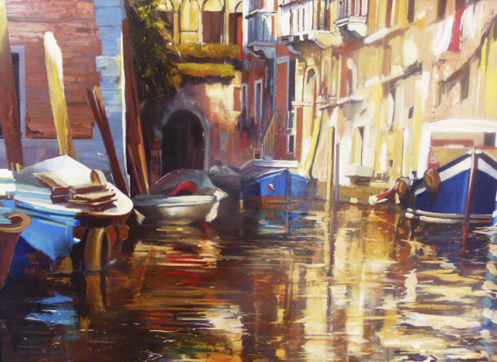 Venecia 100 x 81 cm.