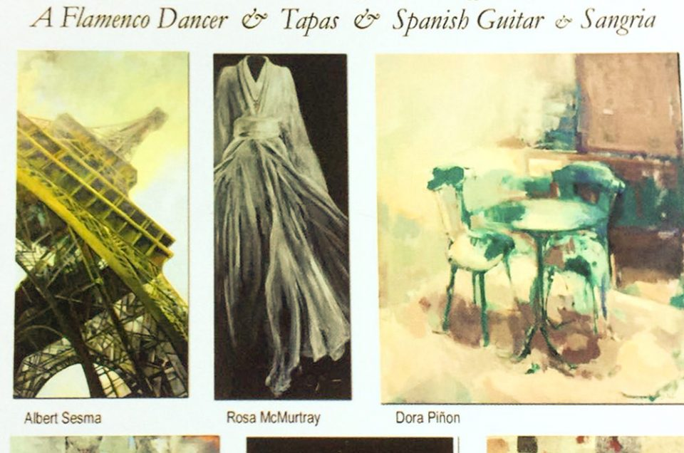 Exposición de pintura Albert Sesma - Atlanta