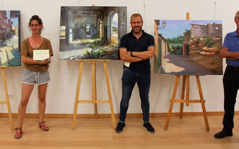 Albert Sesma gana el XVI Concurso de pintura al aire libre de Cintruénigo