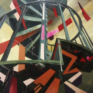 Albert Sesma - Caracol oleo tabla 122 x 81 cm - 800€