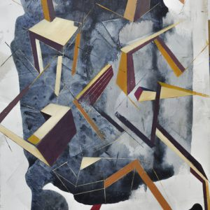 Albert Sesma - Composición en Re oleo tabla 39 x 70 cm 200€