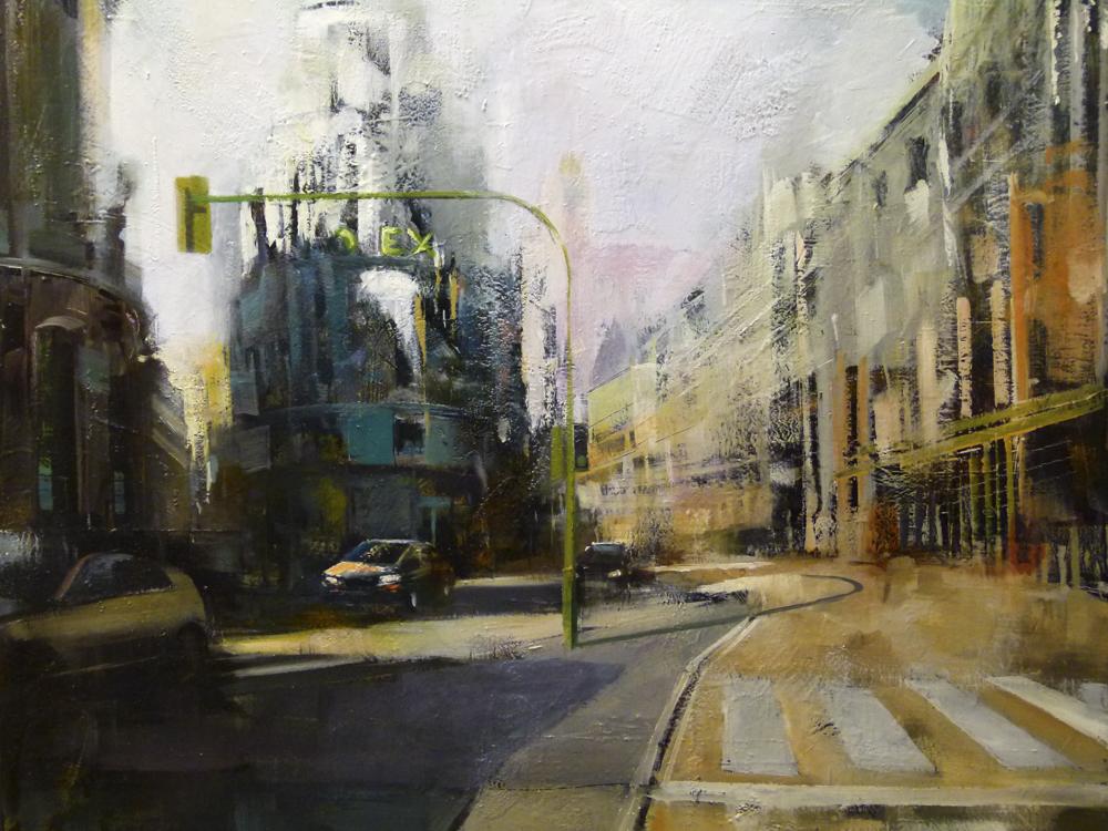 Albert Sesma - Madrid. 100 x 81 cm Oleo tabla 1200€
