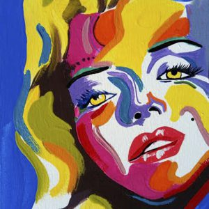 Albert Sesma - Merylin. 70 x 50 cm. Acrilico lienzo 120€