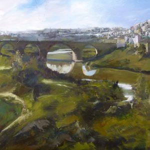 Albert Sesma - Montoro. Oleo Tabla. 100 x 81cm 500€