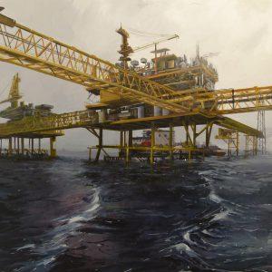 Albert Sesma - Plataforma oleo tabla 150x150cm 2000€
