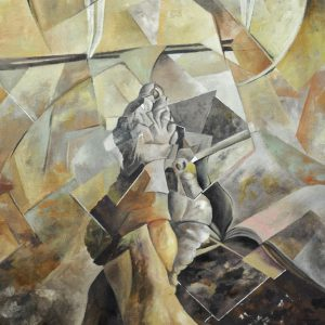 Albert Sesma - Sus Pies. Oleo sobre lienzo. 99 x 69 cm. 10.000€